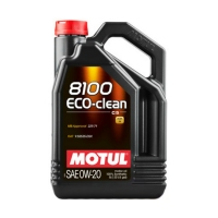 MOTUL 8100 Eco-Clean 0W20, 5л 108862